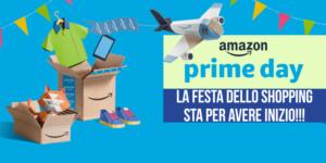 E' arrivato Prime Day 2018!!! La festa dello shopping di Amazon con 36 ore di offerte imperdibili