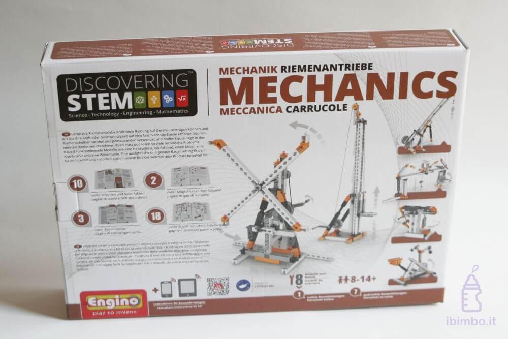 ENGINO Discovering STEM Meccanica Carrucole, la scatola