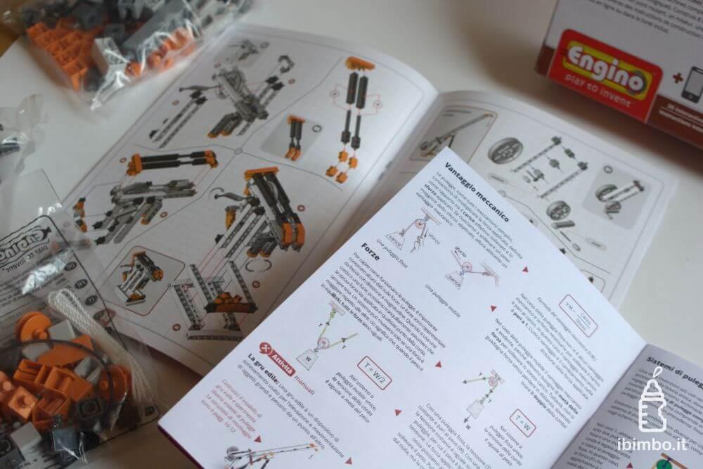 ENGINO Discovering STEM Meccanica Carrucole, libriccino teorico