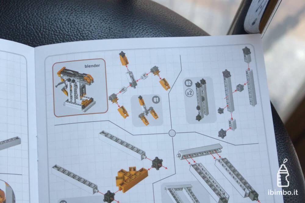 ENGINO Discovering STEM Meccanica Carrucole, le istruzioni di blender