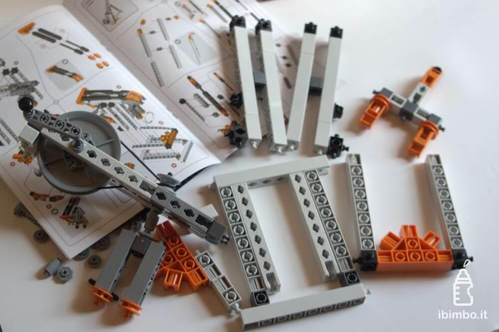 ENGINO Discovering STEM Meccanica Carrucole, componenti del frullatore