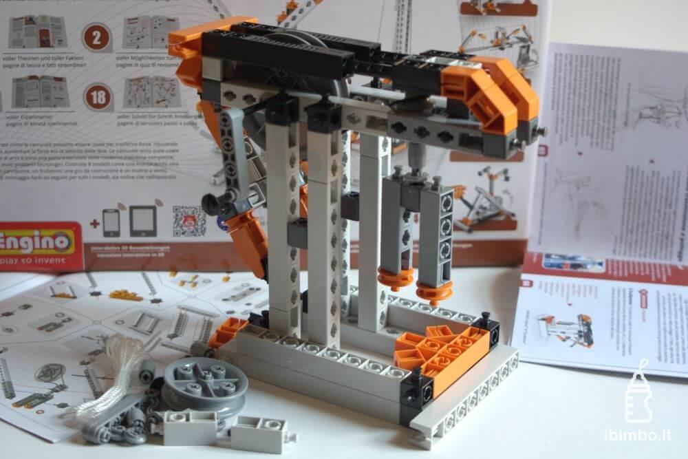 ENGINO Discovering STEM Meccanica Carrucole, frullatore completato