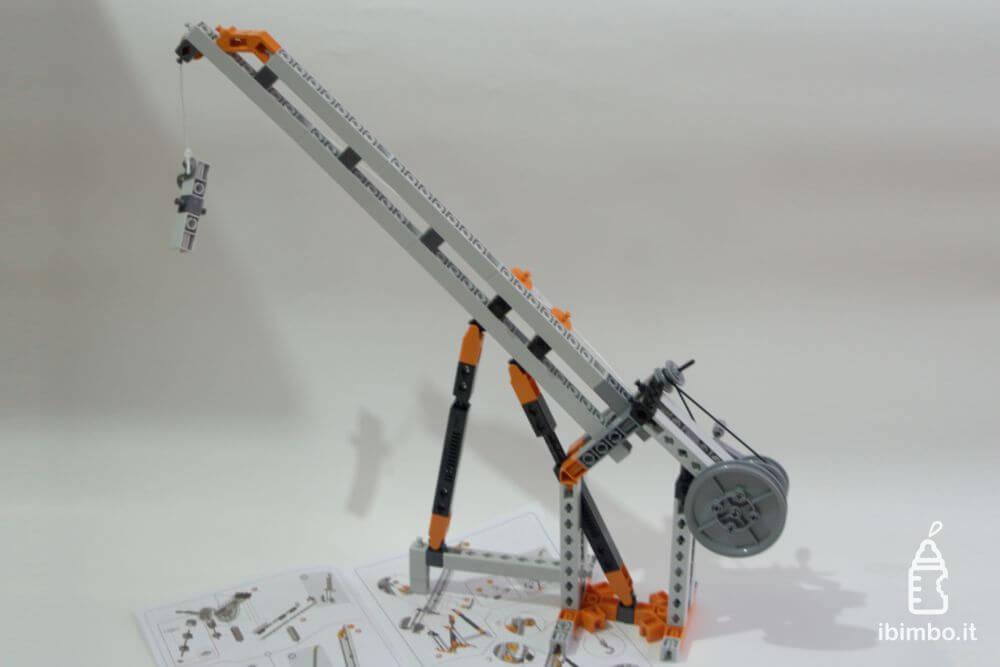 ENGINO Discovering STEM Meccanica Carrucole, modello della gru