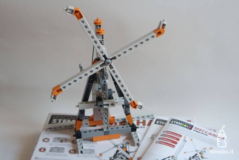 ENGINO Discovering STEM Meccanica Carrucole, modello del mulino