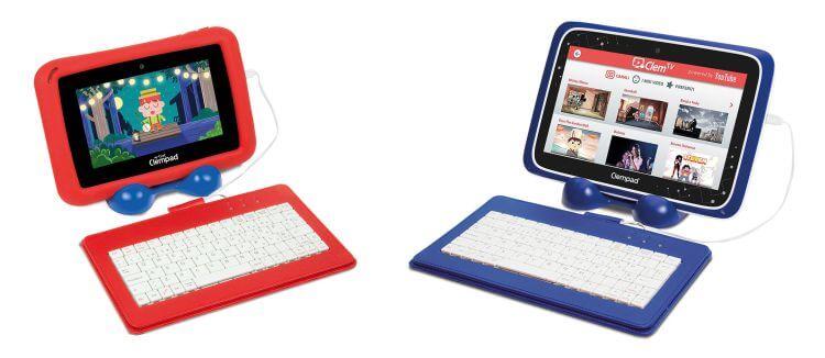 """Le tastiere USB in dotazione con Il Mio Primo Clempad 7.0 Plus e Clempad 8"""" 7.0 Plus"""