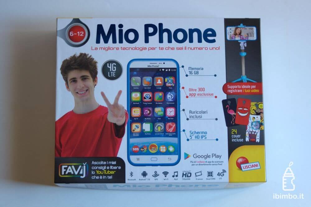 Mio Phone 5'' di Lisciani, la nostra recensione