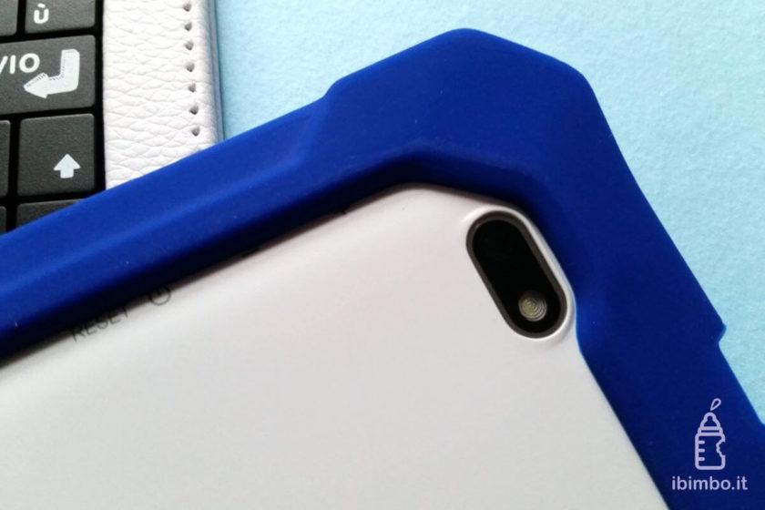 Clempad 9: dettaglio fotocamera