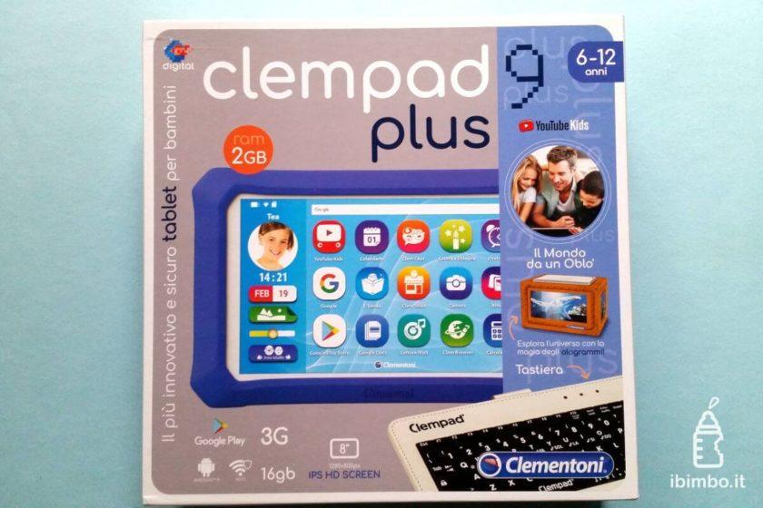 Clempad 9: scatola Clempad plus