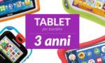 Tablet per bambini di 3anni