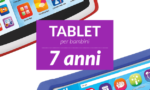 Tablet per bambini di 7anni