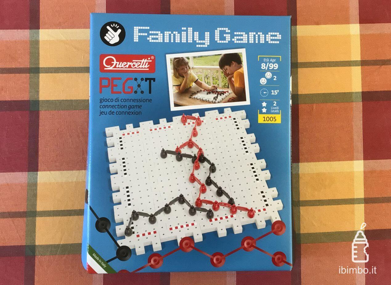 Quercetti Family Game Pegxt recensione