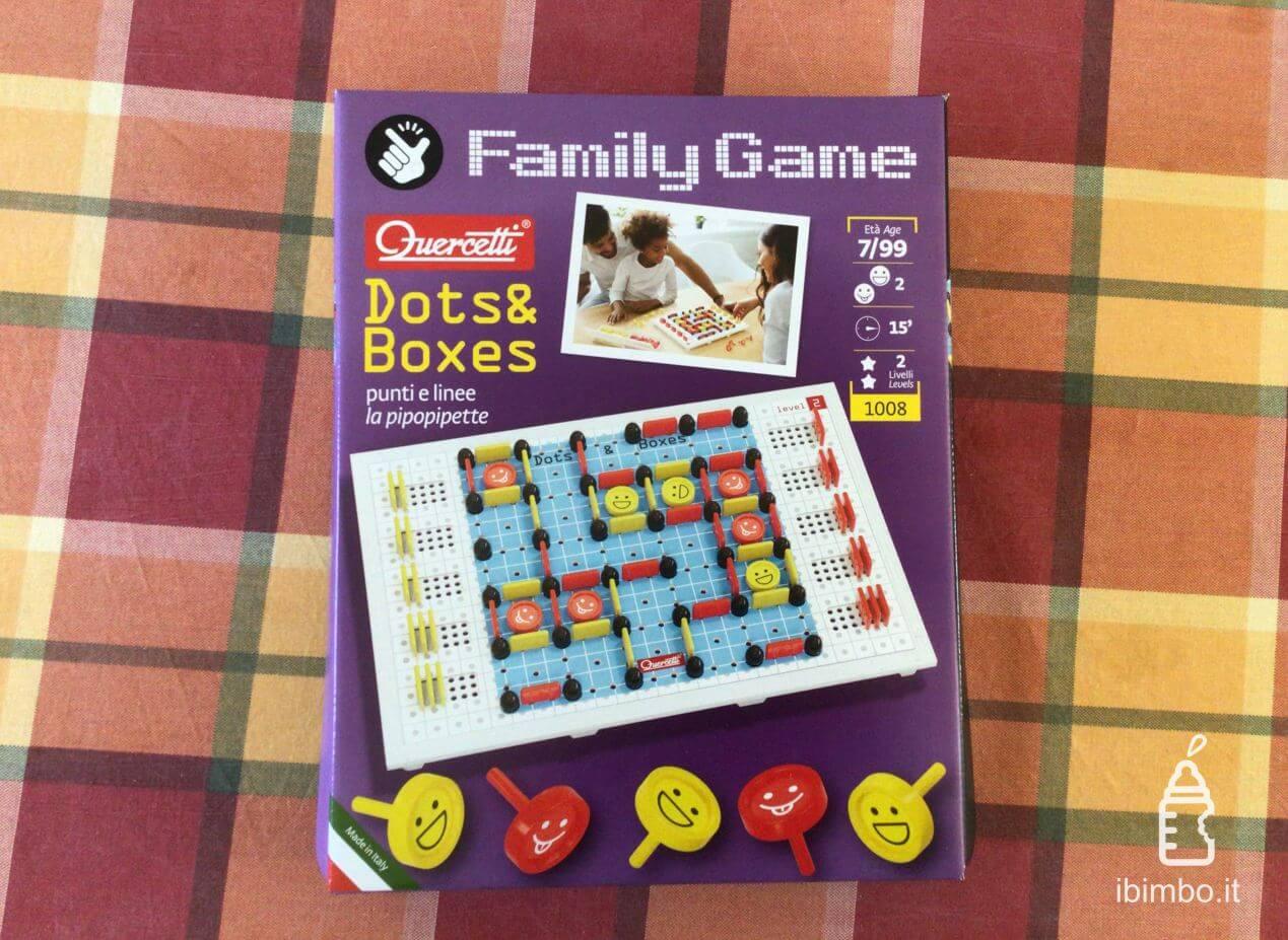 Quercetti Family Game Dots&Boxes recensione